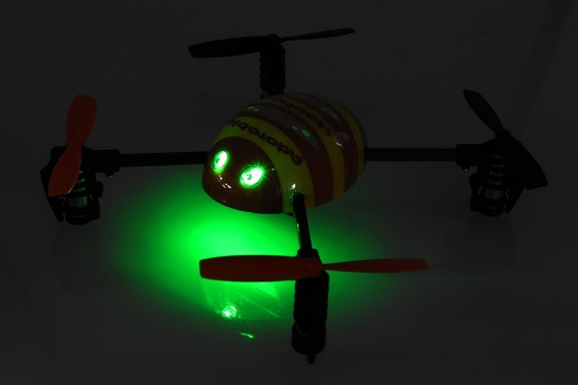 Micro Q4 - poziční LED diody